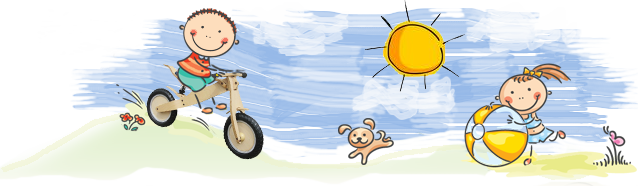 kid riding a bycicle